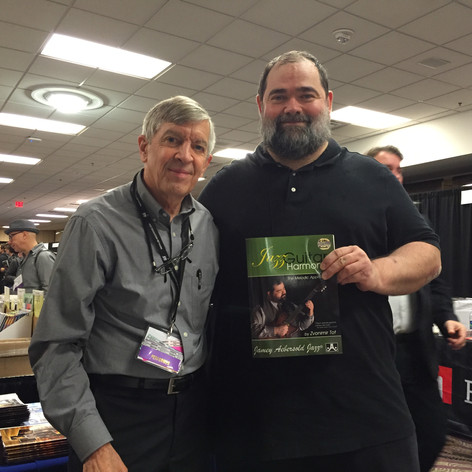 Release of my book, with Jamey Aebersold