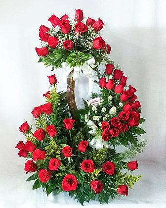 Rosas y más rosas