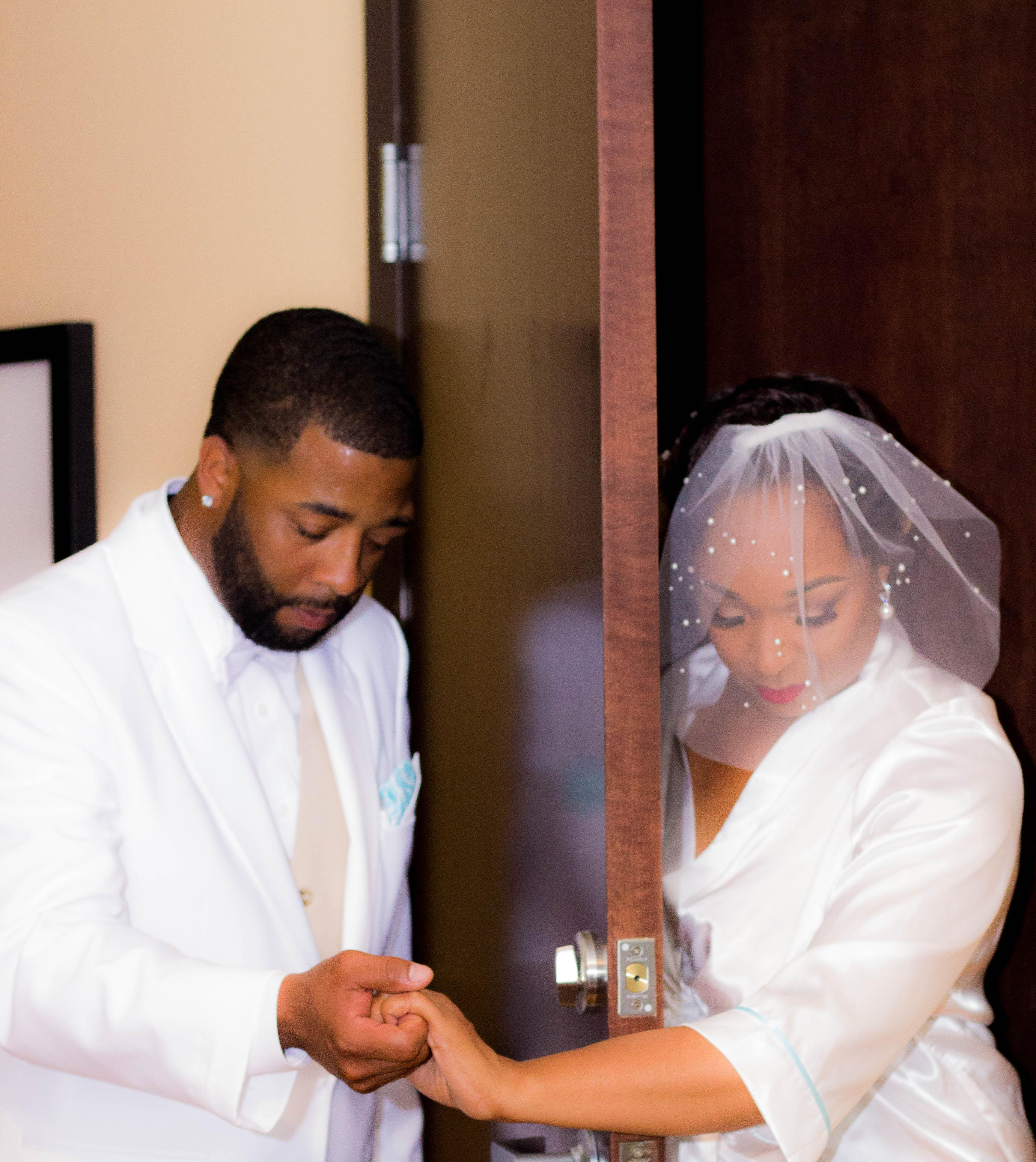M. Franklin Wedding Day b-45