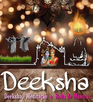 A Deeksha, também conhecida como Bênção da Unidade (Oneness Blessing), é uma energia inteligente e sutil advinda da Fonte da Vida.  Segundo Khrishnaji, fundador da O&O Academy, o propósito primordial do fenômeno divino da Deeksha é a iluminação ou mukti.  É uma ferramenta mística para uma transformação total da consciência. Um movimento da consciência do eu para a consciência de unidade, da separação para a conexão, do conflito para a paz, da divisão para a unidade.  Todas as pessoas, independentemente de sua origem, crença ou estilo de vida, podem desfrutar dessa experiência para conquistar uma vida com mais alegria, propósito, cura e transformação.  A Deeksha não está vinculada a nenhuma filosofia ou ideologia, ou tradição espiritual.  TRANSMISSÃO DA DEEKSHA  A transmissão da Deeksha é feita pela imposição das mãos de um Doador de Deeksha (Deeksha Giver) sobre o chakra coronário (topo da cabeça) do receptor.  BENEFÍCIOS:  A Deeksha se manifesta de forma diferente em cada indivíduo. A