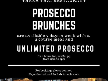 UNLIMITED PROSECCO for 2 hours for just £22 pp