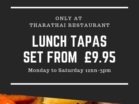 Lunch Tapas Set from £9.95
