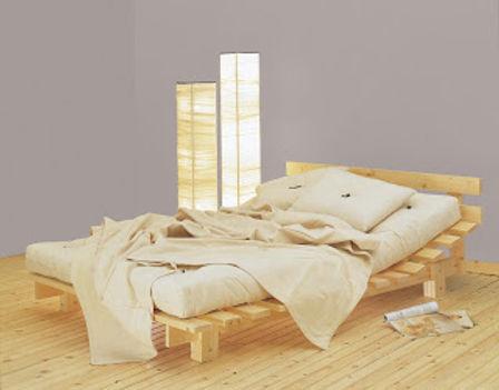 futon bed bedrock