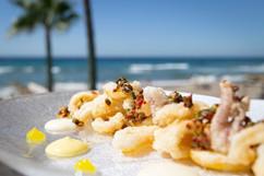 Deep-Fried Crispy Calamari