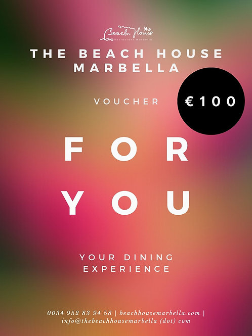 Beach House ONLINE Gift Card
