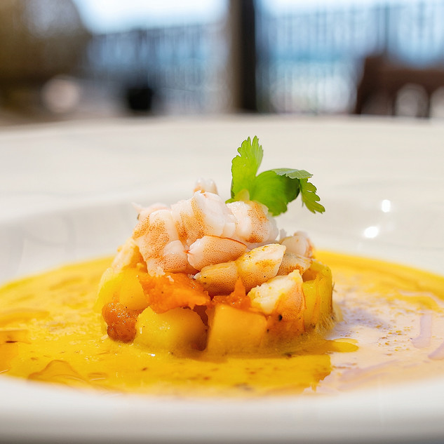 Butternut, Prawn and Coconut Soup