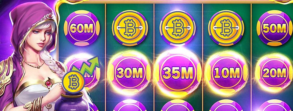 Play Slot. Pay With Crypto