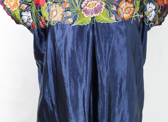 Blouse: Embroidered Flower