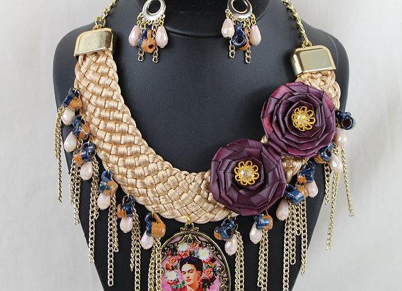"""La Gran Frida"" (The Great Frida) Necklace"