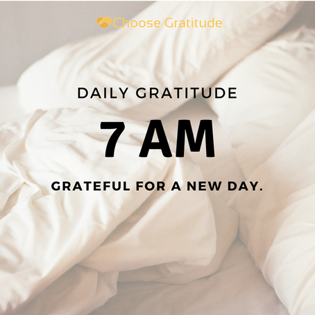 Making Gratitude A Habit Throughout The Day