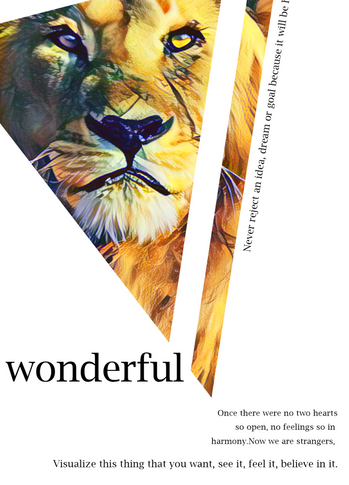 Wonderful Lion