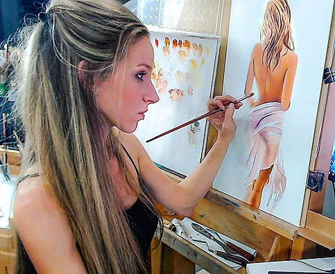 Oil portraits johanna dunn art