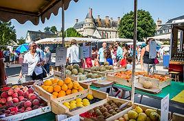 Sur le marché de Langeais
