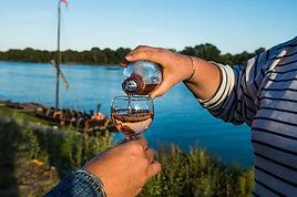 Dégustation de vin de Loire