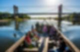 Balade en toue sur la Loire
