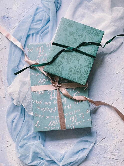 4 Piece Gift Wrap Set