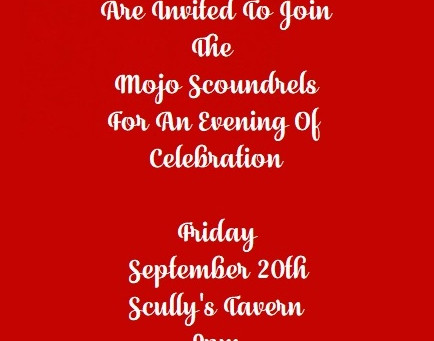 Scully's Friday September 20th