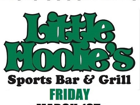 Little Hoolie's Friday March 1st