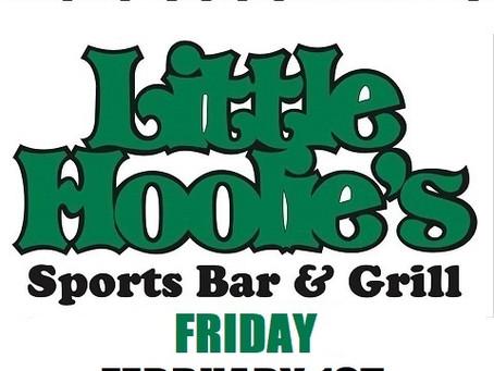 Little Hoolie's Friday February 1st