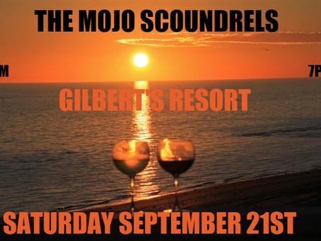 Gilbert's Resort Saturday September 21st