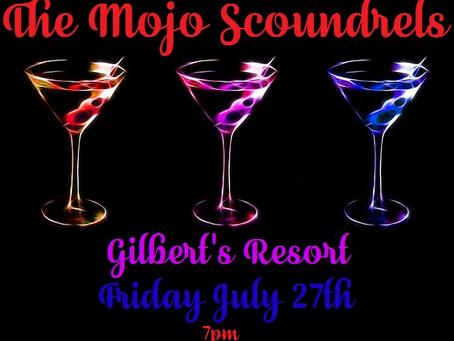Gilbert's Friday July 27th