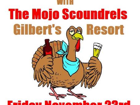 Gilbert's Friday Nov 23rd