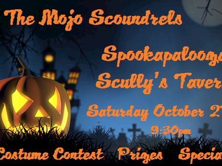 Halloween Party At Scully's Saturday October 27th