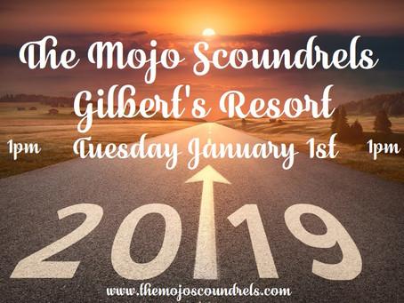 Gilbert's Resort Tuesday January 1st