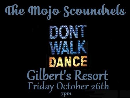 Gilbert's Friday October 26th