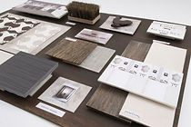 office design sample board