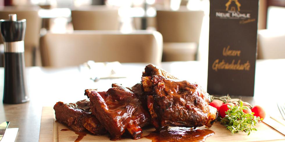 August ist Beef-Ribs Monat
