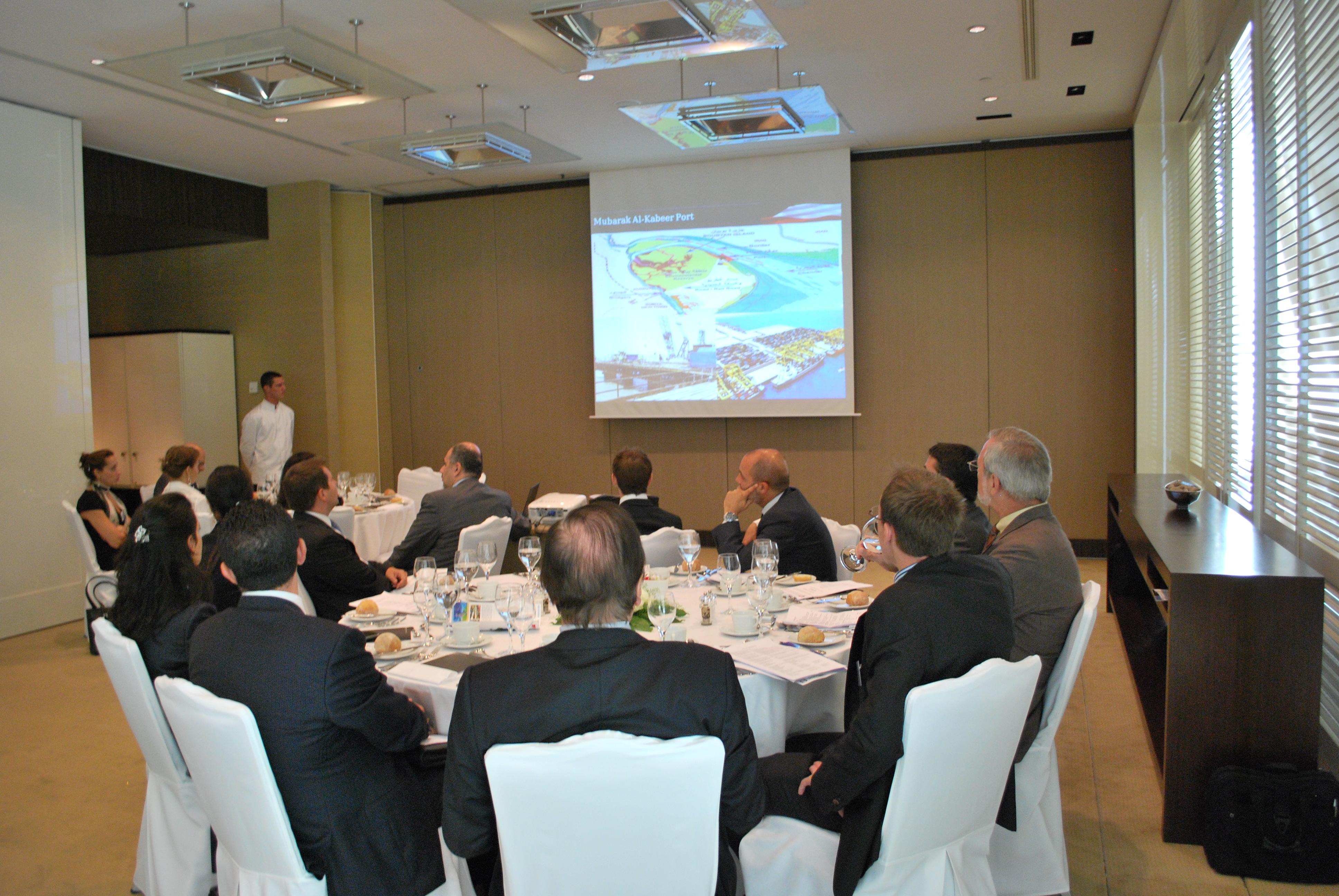 Business Luncheon Kuwait