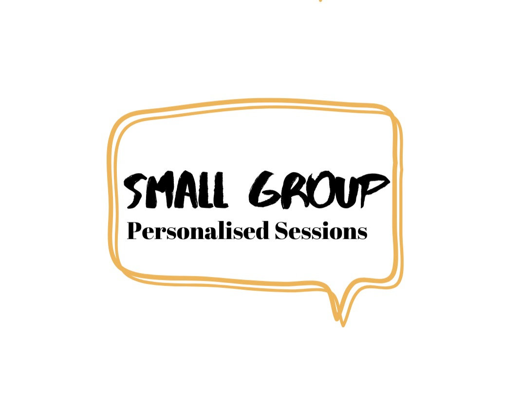 Small Group Sessions (2-4 people)