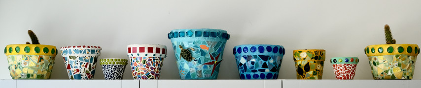 Mixed Size Flower Pots