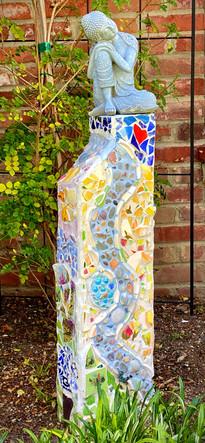 Inspirational Garden Pedestal