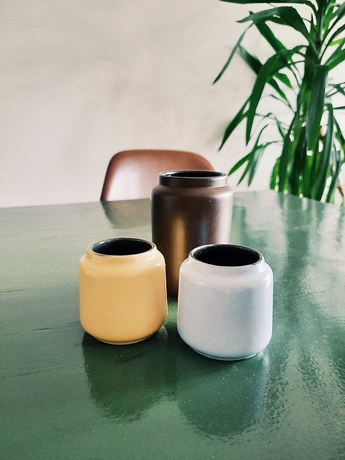 Set of 2 vintage little vases
