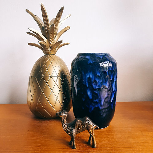 West germany vase blue