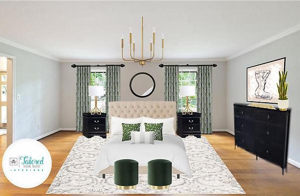 edesign 3D rendering Interior designer Winston Salem 27106 Brookberry Farm Decorating Renovating Remodeling