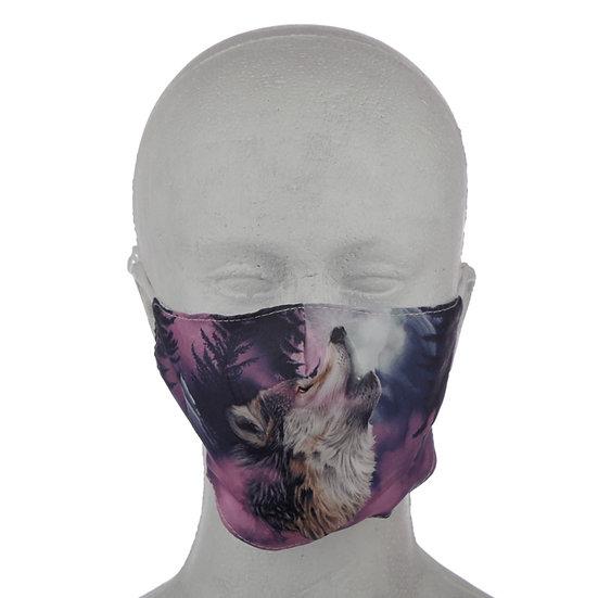 Wolf Face Mask Large