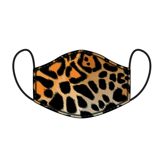 Animal Print Face Covering - Large