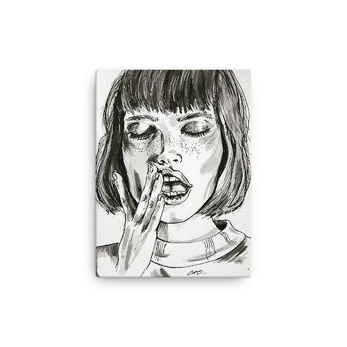 Teeth Canvas Print 12 x 16 inches