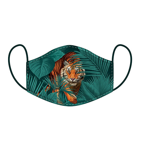 Tiger Reusable Face Covering Large