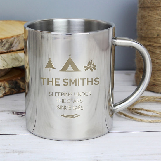 Family Personalised Metal Mug