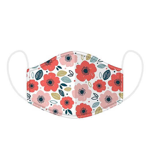 Poppy Reusable Face Covering - Large