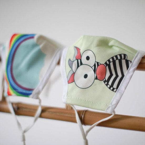 Child Zebra Mask