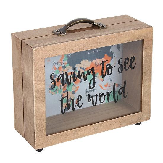 Saving to See the World Saving Box
