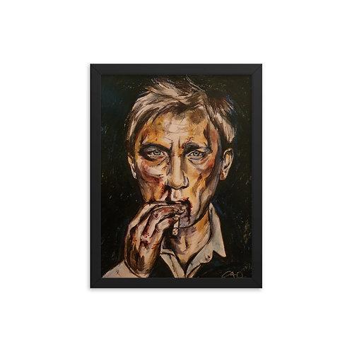 Daniel Craig Framed Art Print
