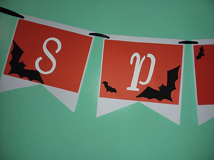 Spooky Hallowee Banner
