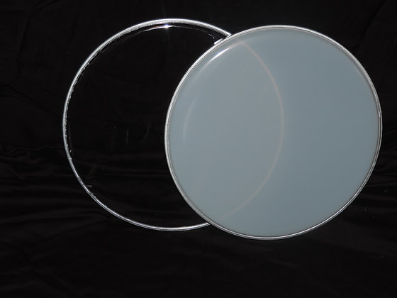 "13"" Snare Drum Head Pack in White"