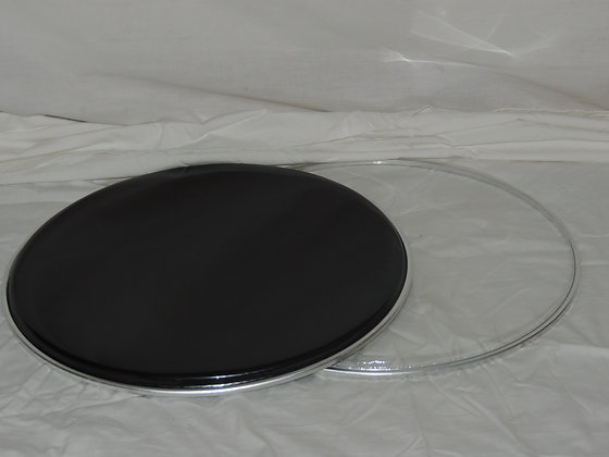 "14"" Snare Drum Head Pack in Black"